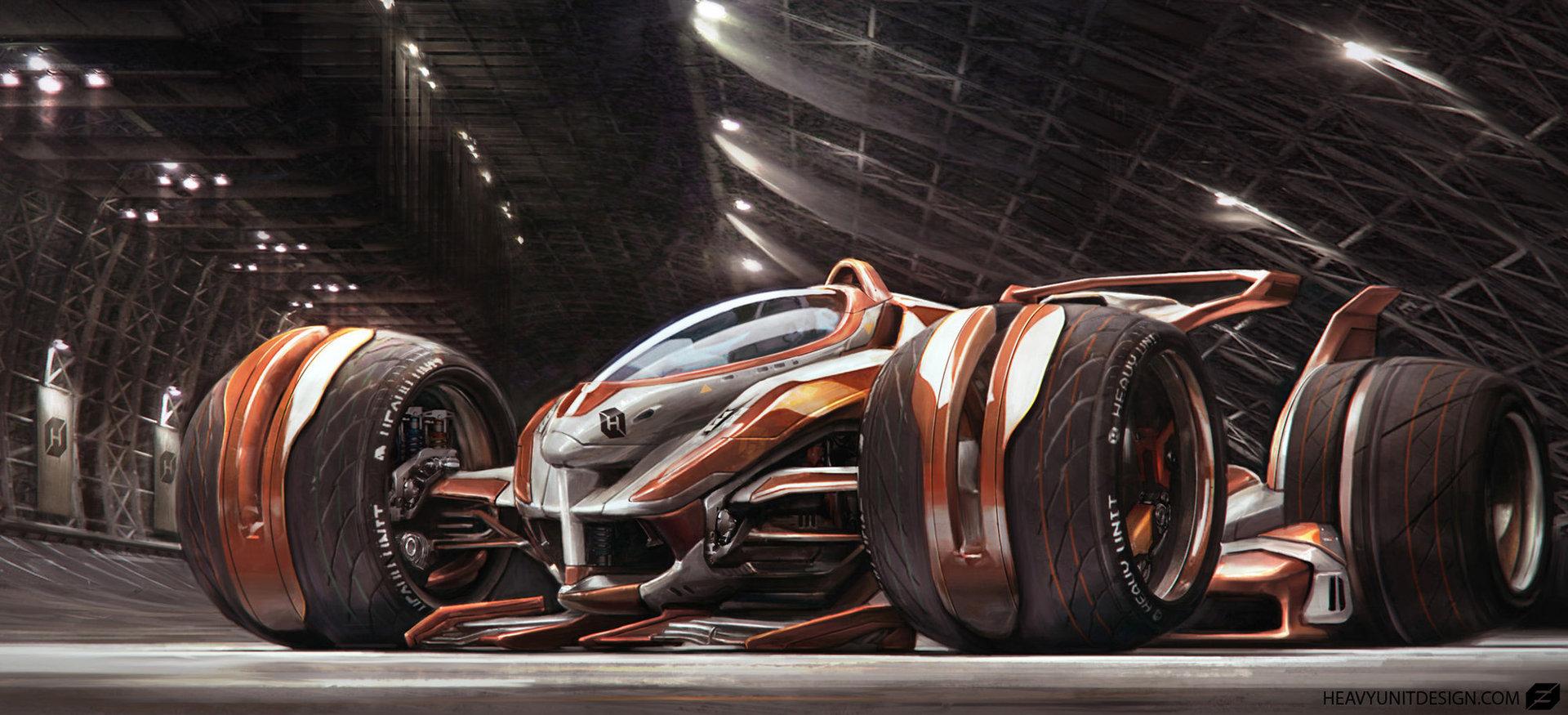 The Futuristic Concept Art Of Mike Hill Digital Sci Fi