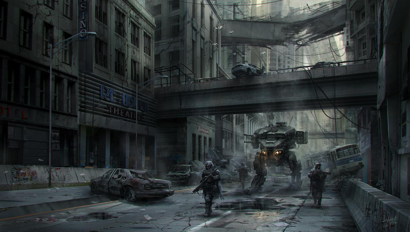 The Futuristic Sci Fi Art Of Alex Ichim Concept Art