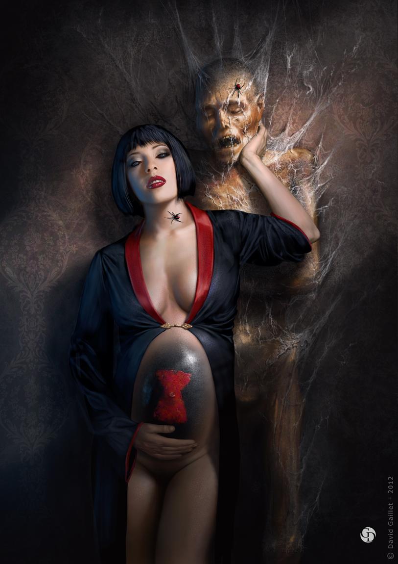 dark erotic digital art