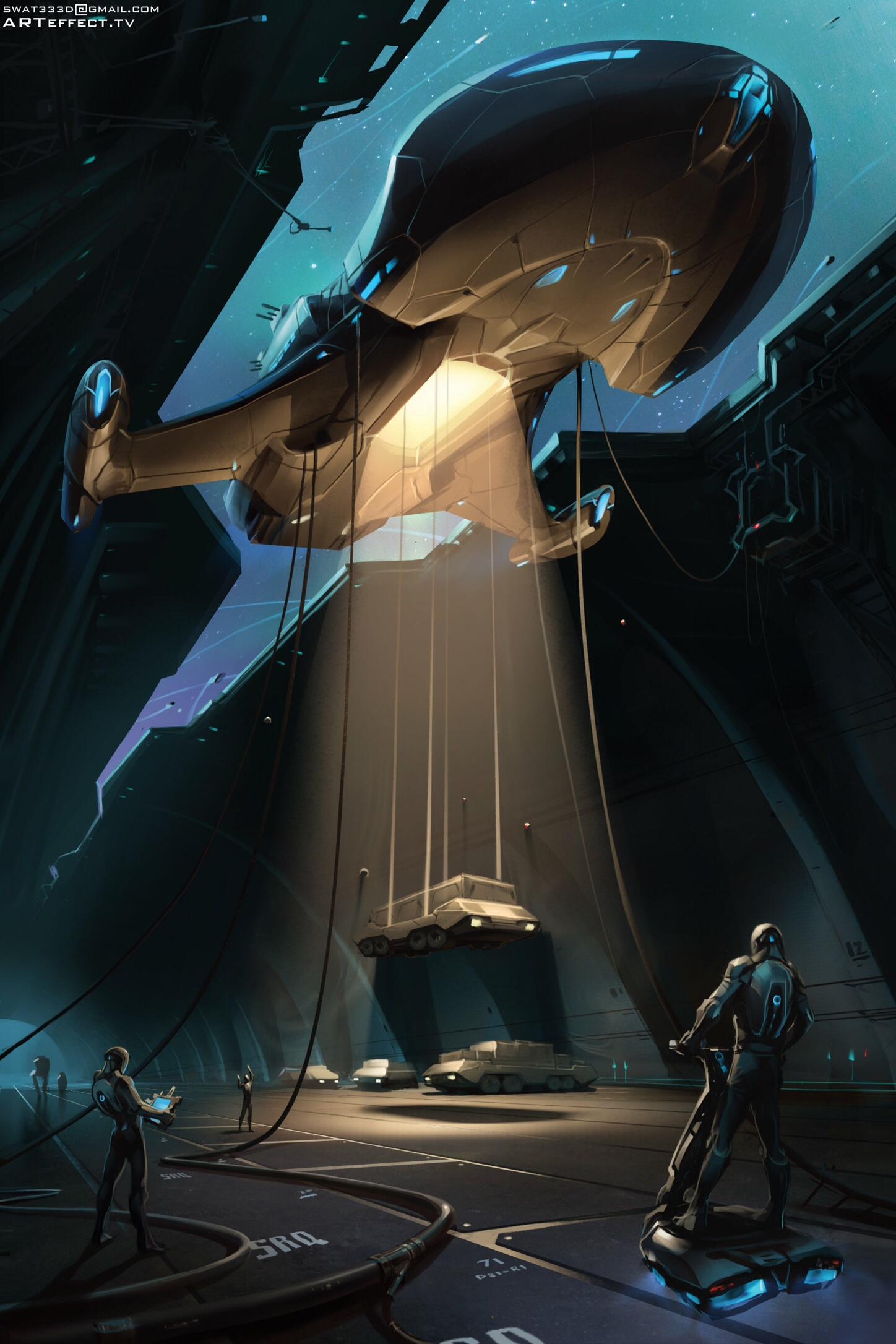 The Fantastic Art of Svyatoslav Gerasymchuk | Sci-Fi Artist