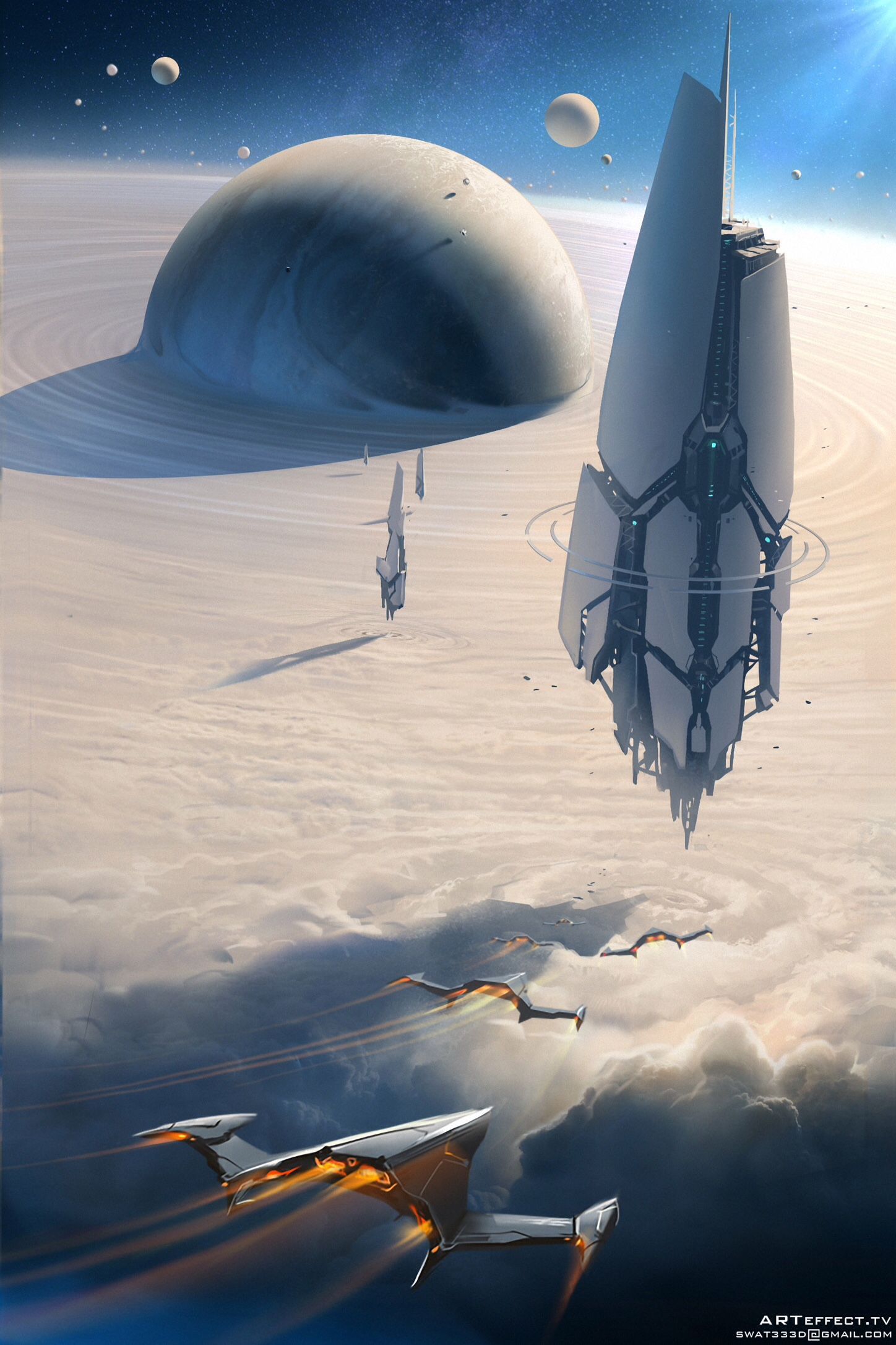 The Science Fiction Art Anthology |Science Fiction Graphics