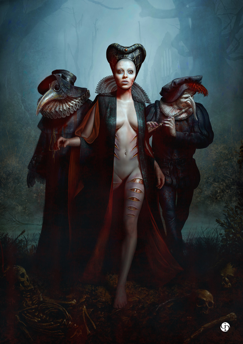 The Dark Fantasy Art of Mike Franchina | Concept Artist