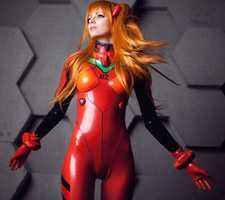 Awesome Asuka Langley Soryu from Frosel Cosplay
