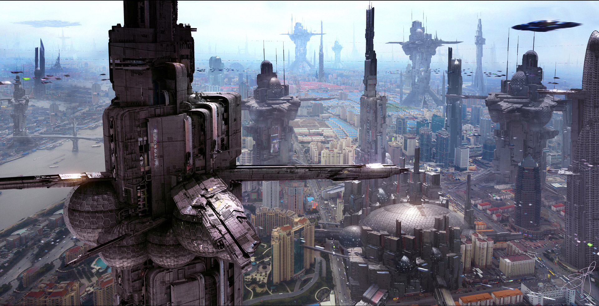Best Sci Fi World Building