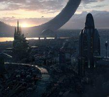 Amazing Sci-Fi Cityscape from Wojtek Fus
