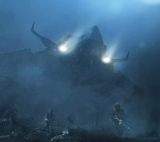 Atmospheric Sci-Fi Artwork from Andrey Vozny