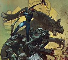 Fallout 4 Hammer Artwork by Bayard Wu