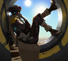 Cool Star Wars Character Art by Yvan Quinet