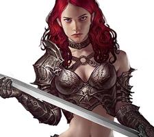 Beautiful Fantasy Character Art by Imthonof U
