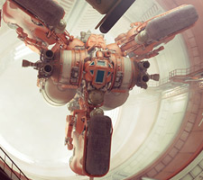 Stunning 3d Sci-Fi Design by Paul Pepera