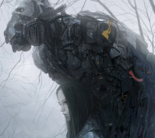 Dark and Beautiful Sci-Fi Art by ChangSung Bae