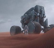 The Sci-Fi Themed Concept Art of Nikolay Razuev