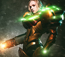 Seriously Awesome Samus Aran Cosplay!