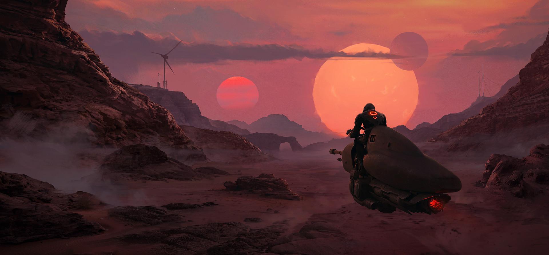 The Science Fiction Art of Thu Berchs | Digital Artist