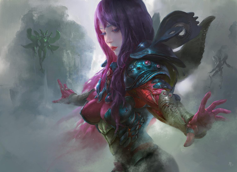The Digital Fantasy Art of Michael Chang