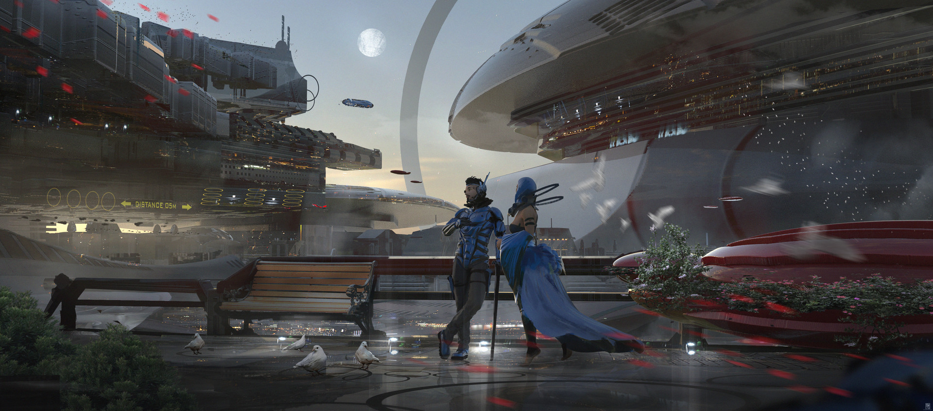 The Sci-Fi Art of Wadim Kashin