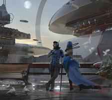 The Science Fiction Art of Wadim Kashin