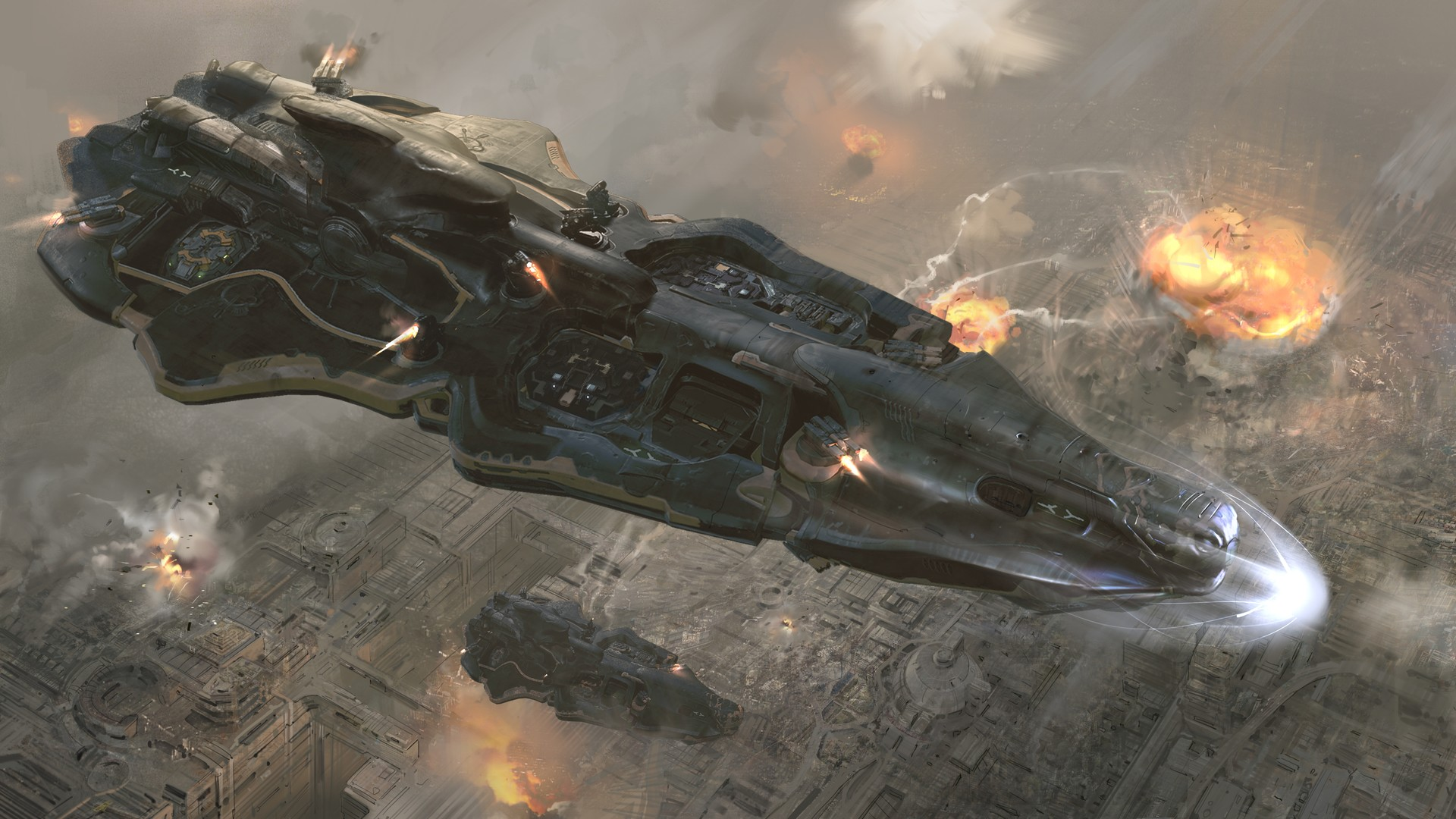 The Incredible Sci-Fi Art of Yuriy Mazurkin