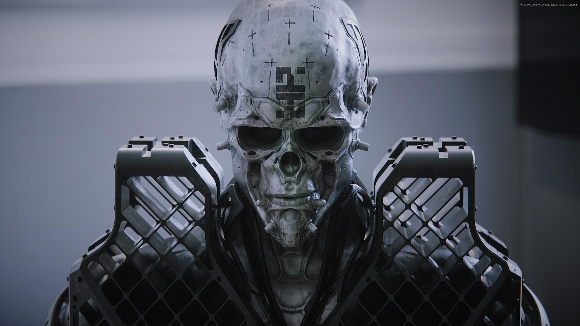 The Futuristic 3d Art of Vitaly Bulgarov