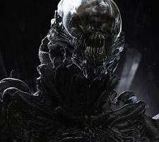 Super Cool Alien Artwork by Furio Tedeschi