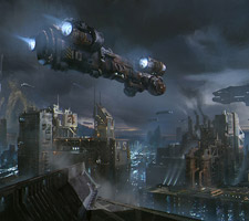 The Science Fiction Art of B S