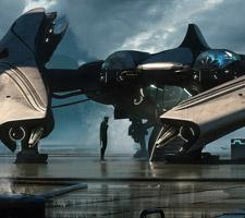 The Futuristic Sci-Fi Art of Jan Urschel