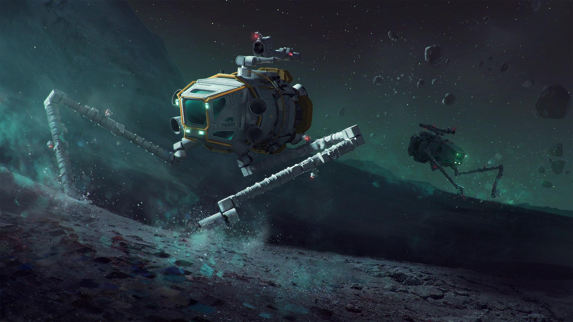 Superb Sci-Fi Space Art by Mac Rebisz