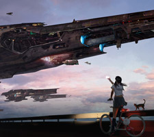 Amazing Sci-Fi Art by Kung Jazz