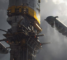 The Science Fiction Art of Julien Gauthier