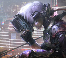 The Science Fiction Art of Vincent Lefevre