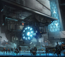 The Science Fiction Art of Leon Tukker