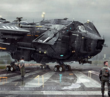 The 3d Sci-Fi Artworks of Jonathan Ching