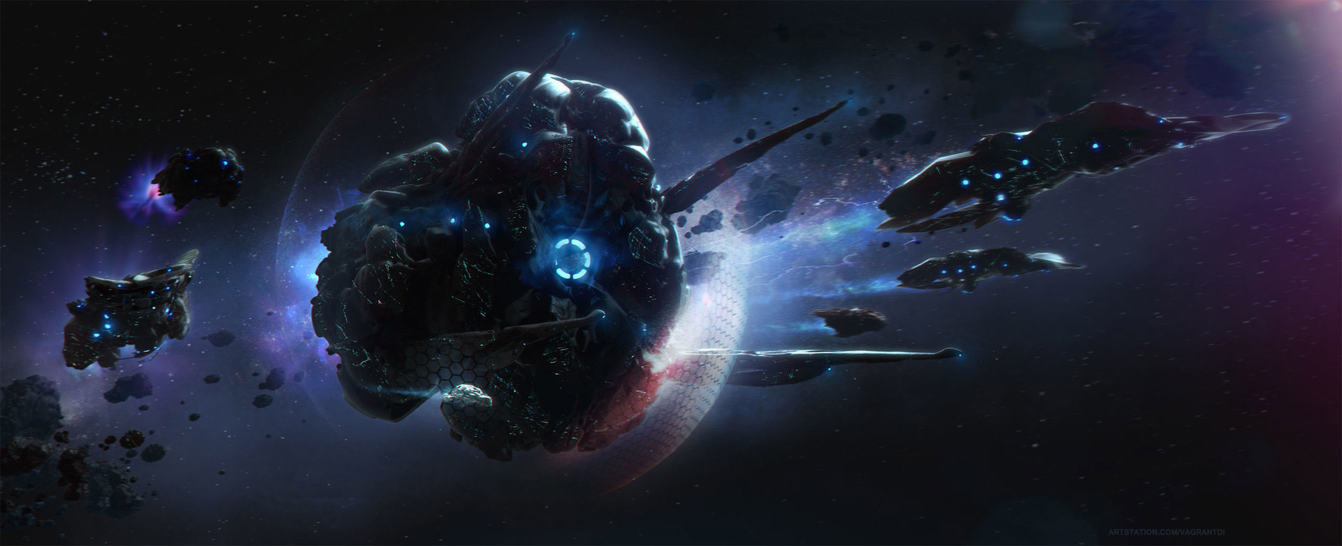 The Digital Science Fiction Art of Vitali Timkin