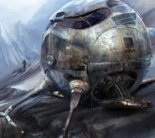The Digital Sci-Fi Art of Dave Freeman