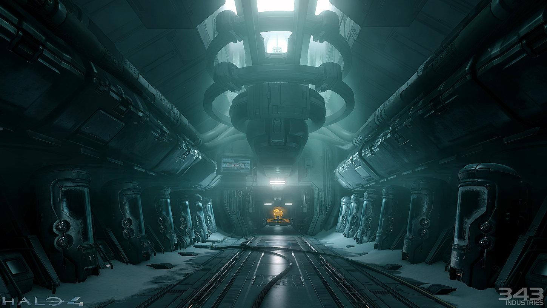 Stunning 3d sci fi design by paul pepera 3d artist for Sci fi decor