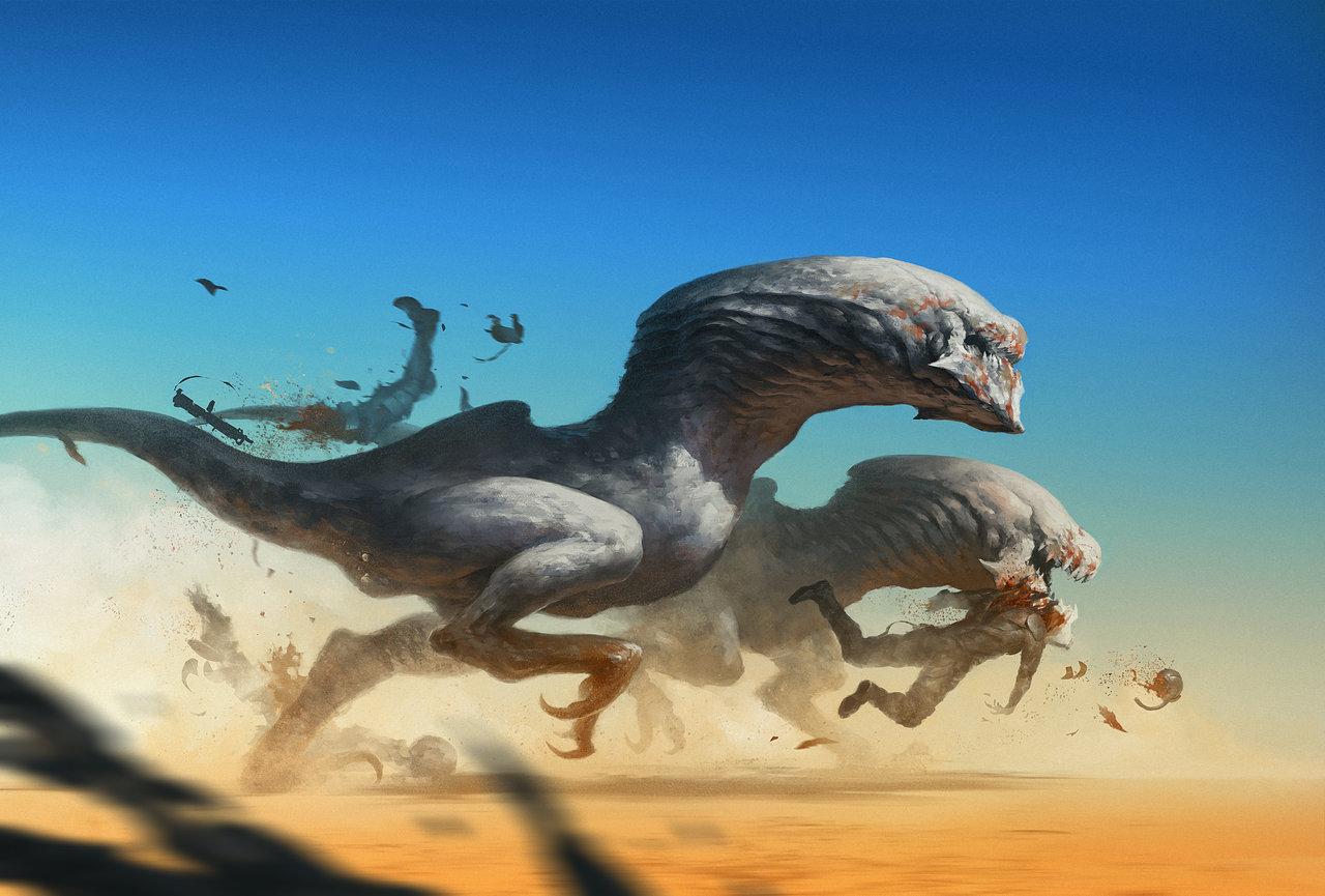 The Digital Art Of Alejandro Mirabal Sci Fi Artist