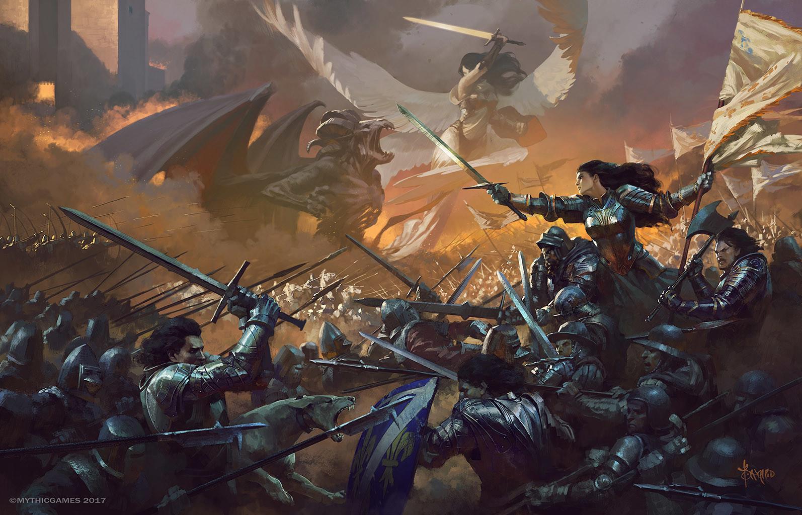 Image result for fantasy art violence