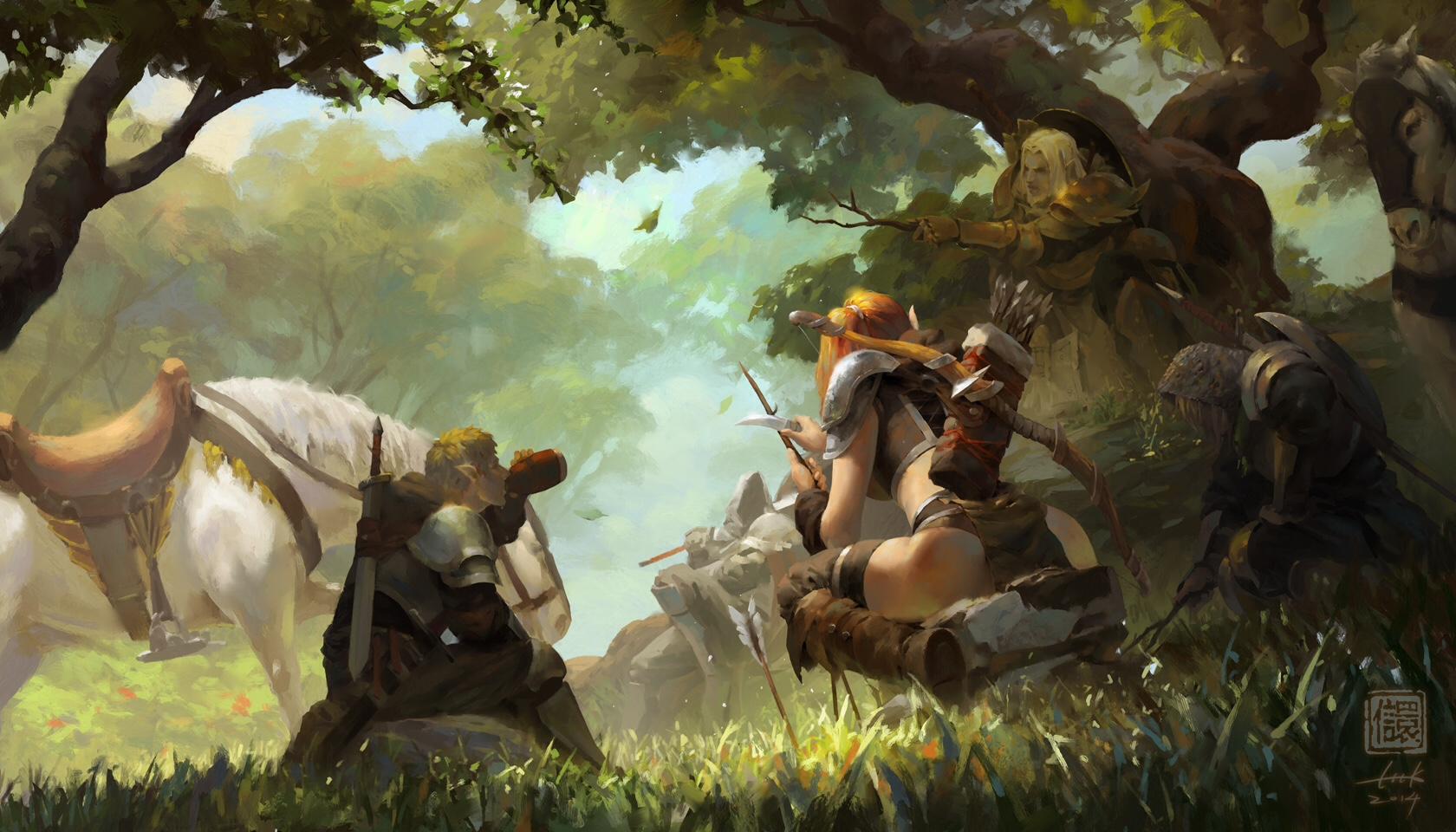 the fantasy paintings of ken liu fantasy artist