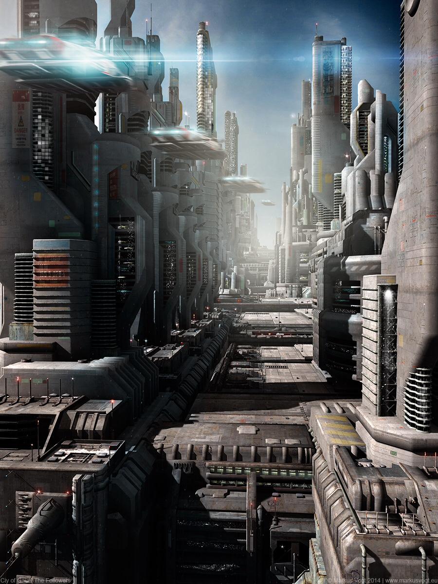 The Futuristic Sci-Fi Art of Markus Vogt | Digital Artist