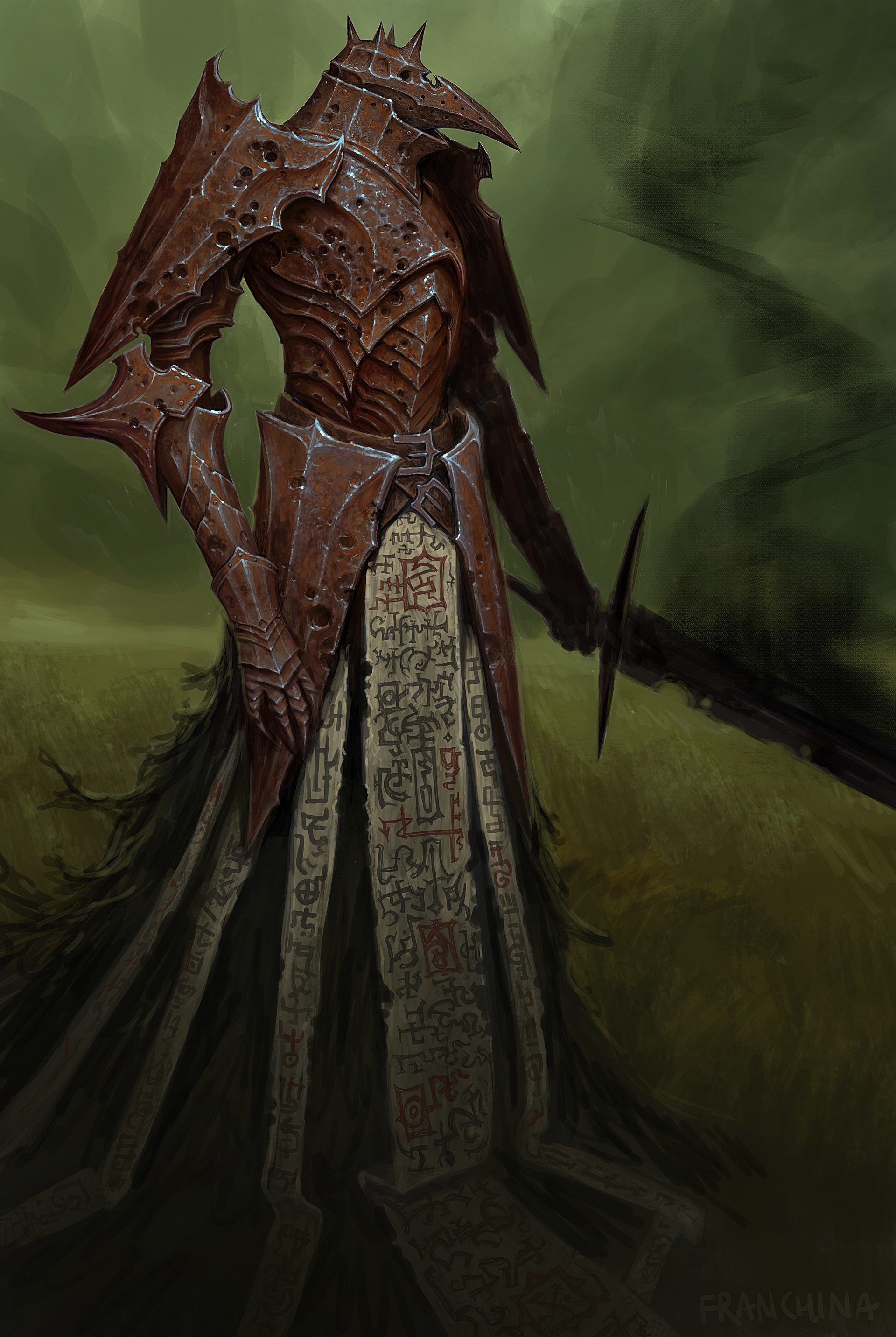 ArtStation - ., zt Liu | Dark fantasy art, Dark fantasy