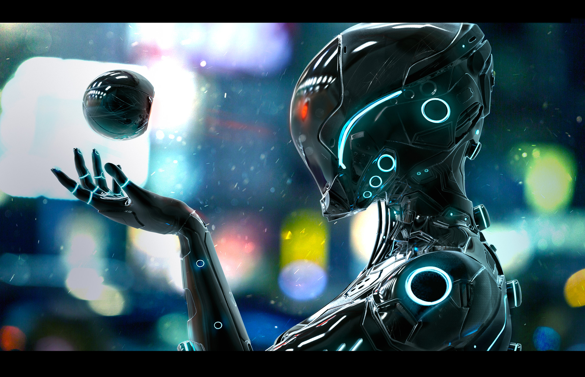 The Futuristic Digital Art Of Oskar Woinski Sci Fi Artist
