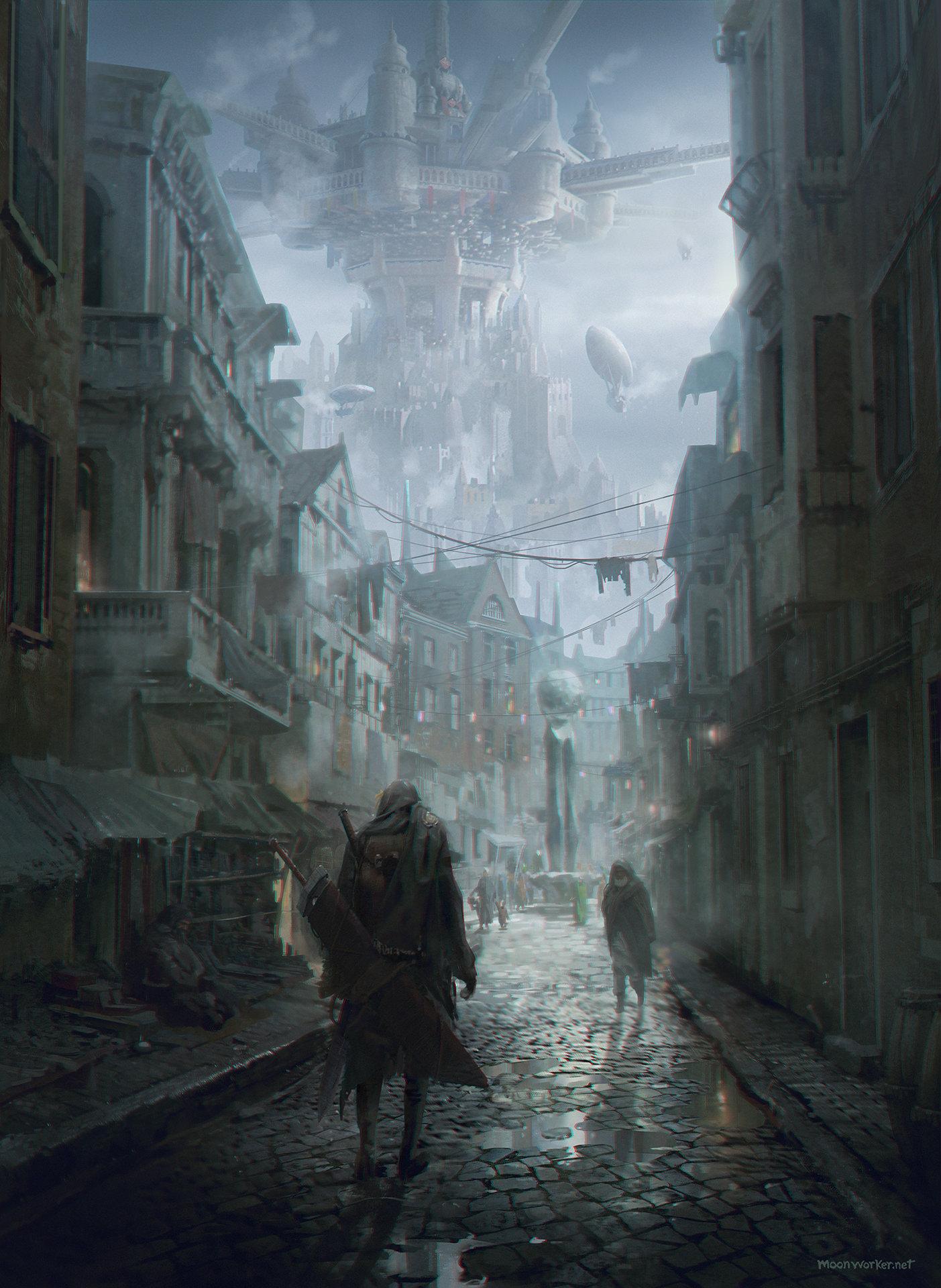 The Digital Sci Fi Art Of Seungjin Woo Sci Fi Fantasy