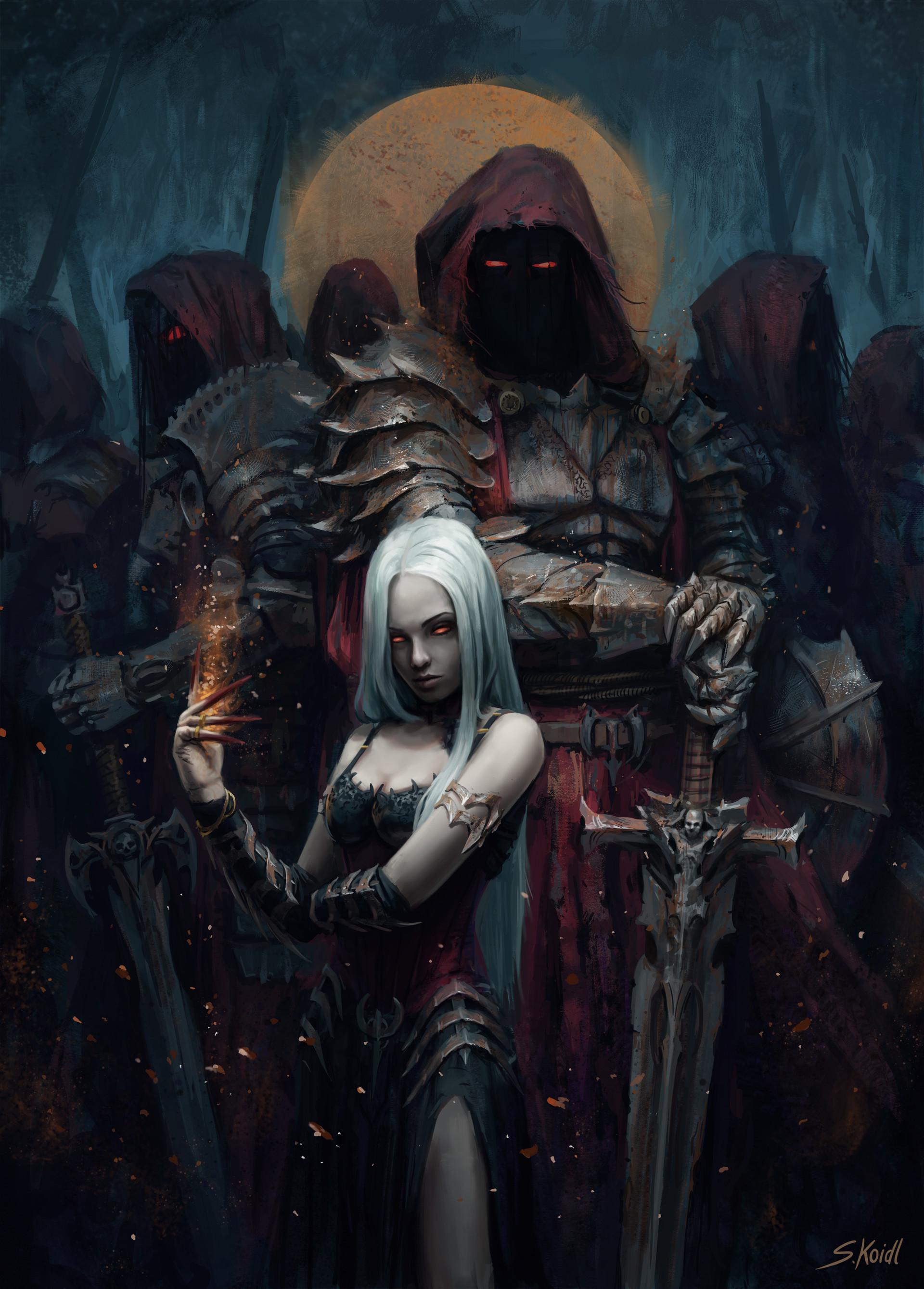 Pin by mark bilby on RPG - Mulheres | Dark fantasy art