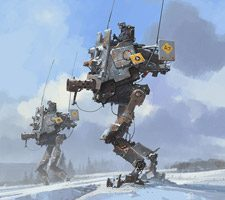 The Sci-Fi Creations of Ian McQue