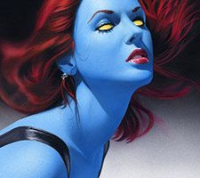 Mystique by Comic Book Artist Mike Mayhew