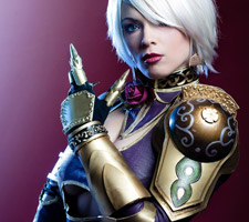 Incredible Ivy Valentine Soul Calibur IV Cosplay