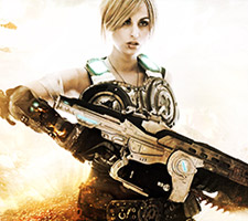 Anya Cosplay from Gears of War 3 by Meagan Marie