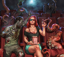 Superb Horror Fantasy Art from Flavio Greco