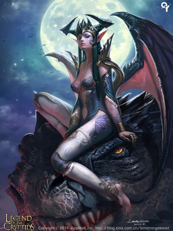 dragon_girl2_by_liangxinxin