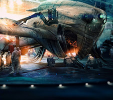 The Dazzling Sci-Fi Art of Alexey Kondakov